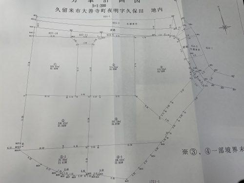 区画計画図